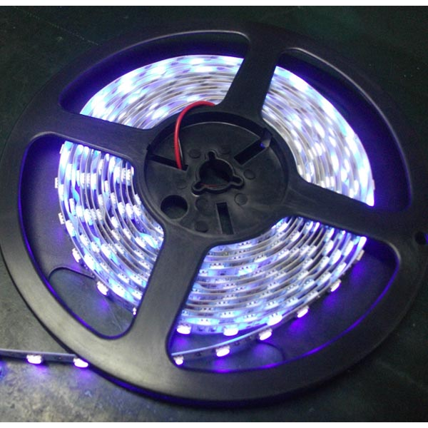 UV led strip(380-385 nm LED light Ultraviolet Strip)60 led/M 5M