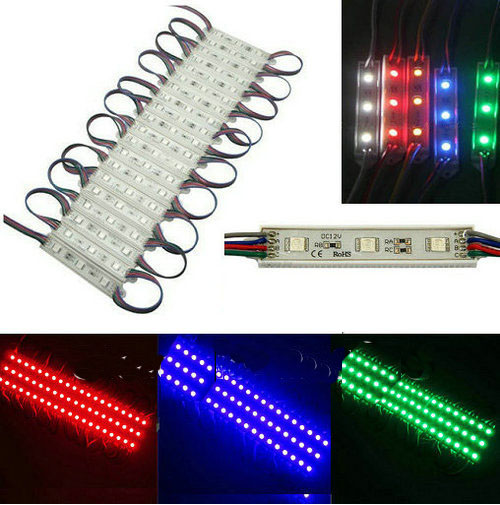 5050 smd led Module(12v RGB Super Bright 20 LEDS Light)