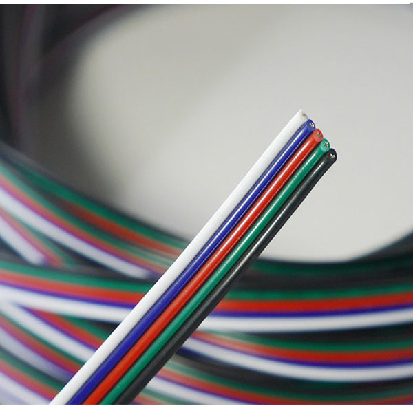 RGBW wire cable (5 Pin for 5 Channels RGBW LED strip)