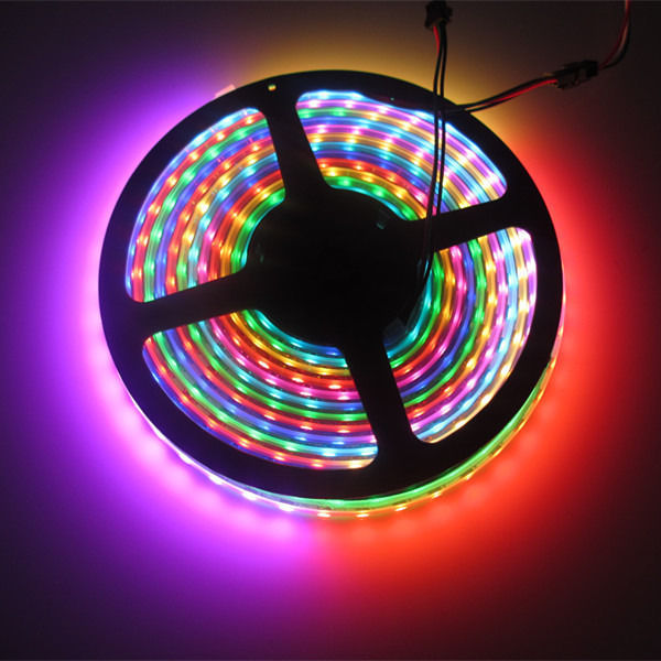 Ws2801ic led strip rgb led pixels 60 pcs1m 10000 ledsk we mainly engaged in designing and selling the led lighting control systemd this is 74 ledm ws2812b ws2811 ws2812b 4 pin led digital strip light rgb 5v mozeypictures Choice Image
