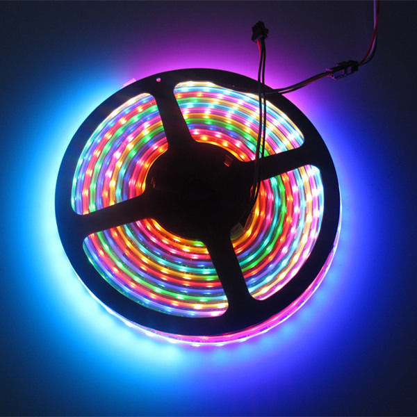 Light tape (WS2812B led strips 74 pcs/m Lights RGB Tubes)