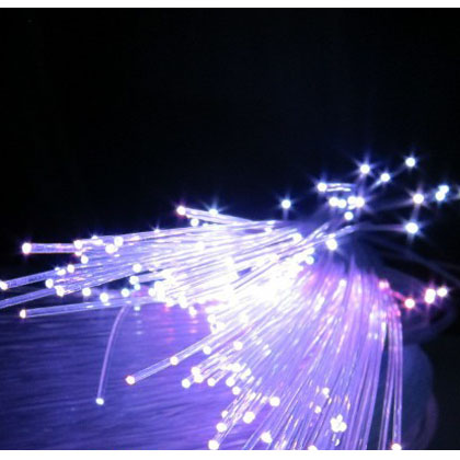 led fiber optic illuminator cable(0.75mm PMMA plastic)