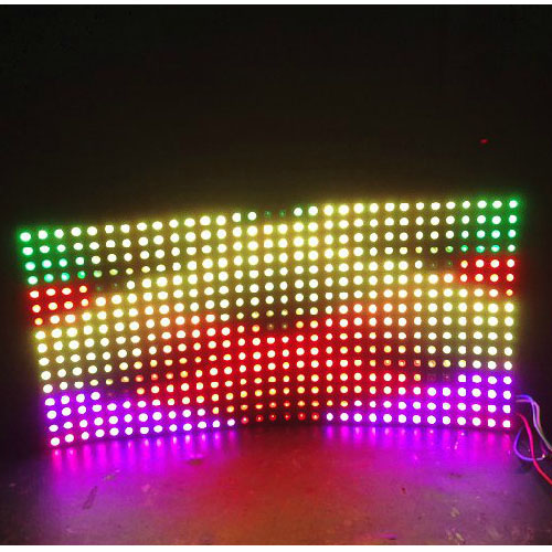LED Matrix (Panel)8*32 WS2812B NeoPixel LED Pixel Panel DC5V