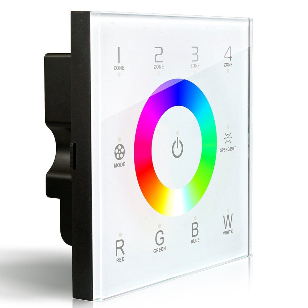 DX8 RGBW 2.4G LED Touch glass Panel Controller