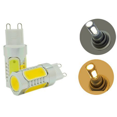 g9 7w cob led lamps(cheap led replacement lamp home lighting)