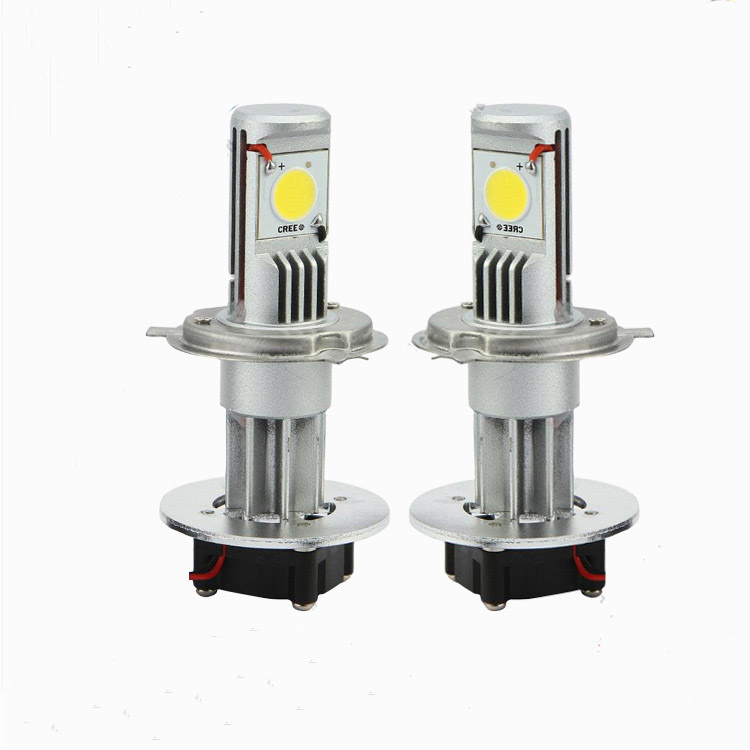 H4 50W CREE headlight Lamp Bulb Set (LED Headlamps)