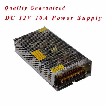 120W led power(12v 10a LED driver for LED strip power supply)