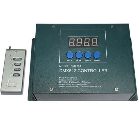 Display Rf Rgb Dmx512 Master Controller Remote Chang Mode
