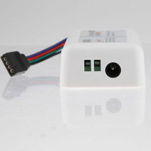 rgbw controller + WIFI 2.4G RF colorful 12-24V wireless control