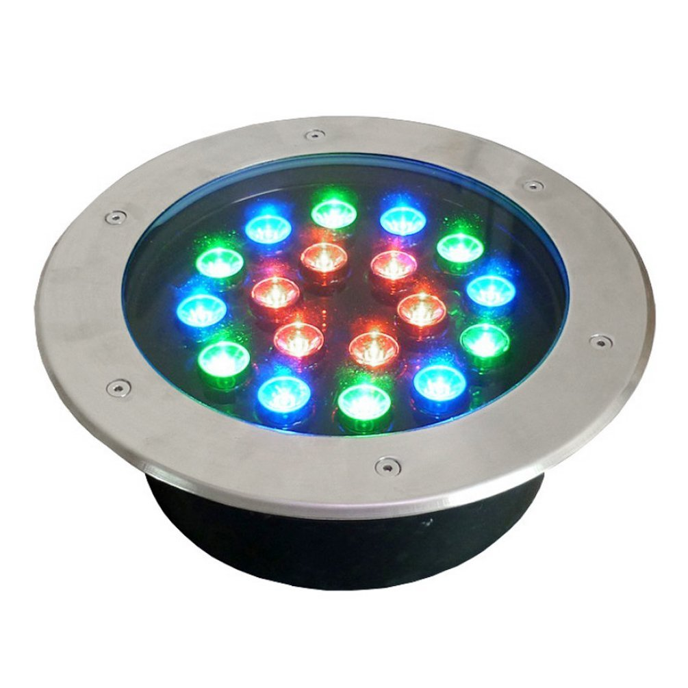 Underground Light 18W RGB High-Power Round Led