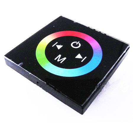Wall mount rgb led wall touch Panel(Screen)controller,12-24V DC