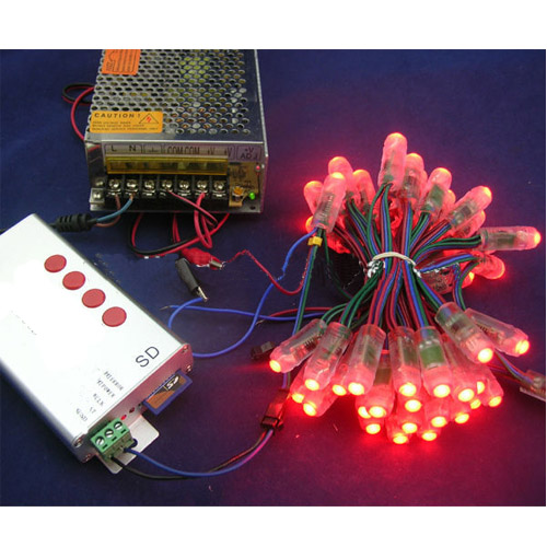 Waterproof led pixel node(ws2811IC 5V leds for channel letters)