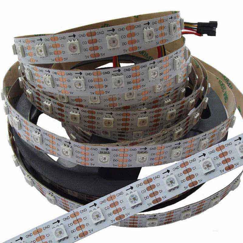 APA102 led strip(APA102-smd5050 LED/M with 60pixels)