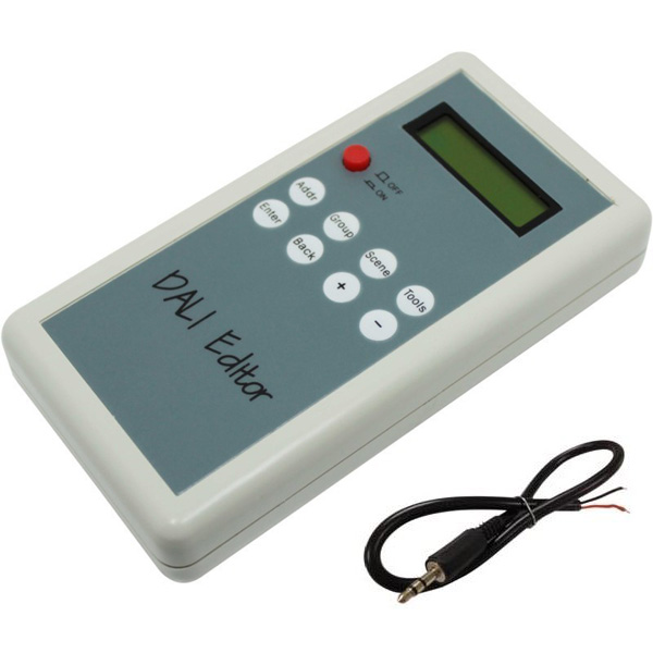 Handheld DALI address editor whit led panel(6 key DALI edit)