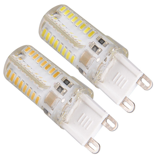 g9 smd 3w led halogen replacement--220V Epoxy resin glue Bulb