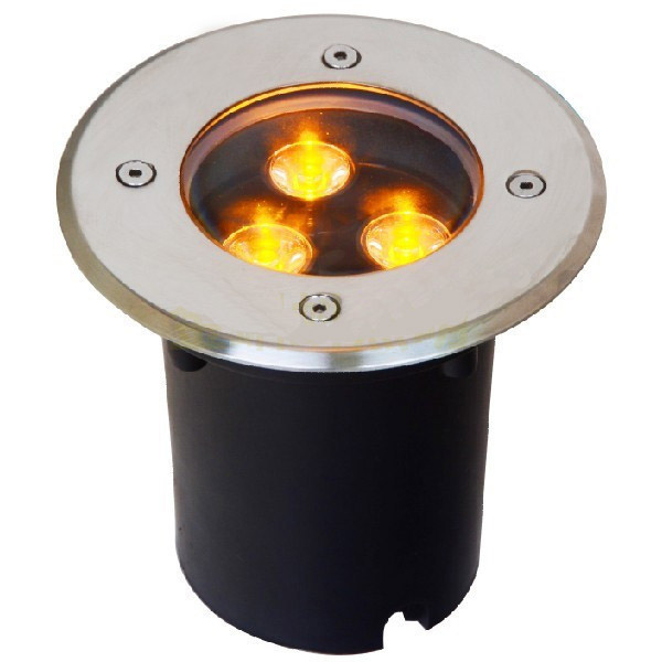 inground light 3 x 1W hight power led Lighting