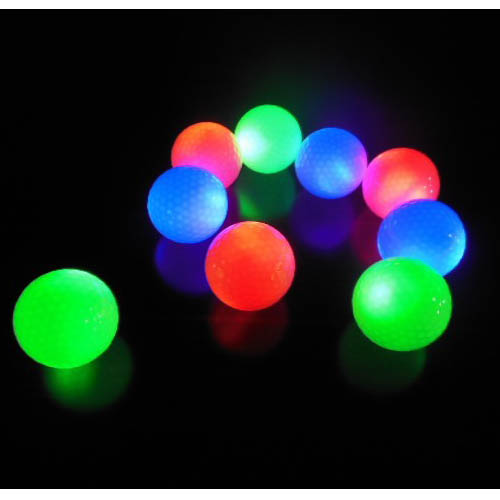 golf ball light bulbs(Mixed Color Flashing)
