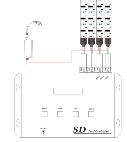 Dmx Decoder Wiring Diagram on 5 pin dmx splitter