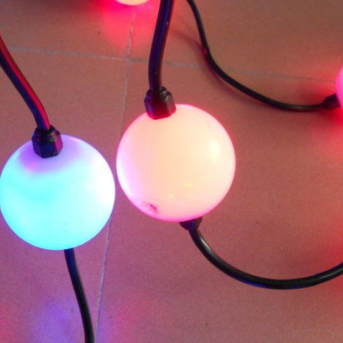 led pixels 3D ball light with WS2811IC