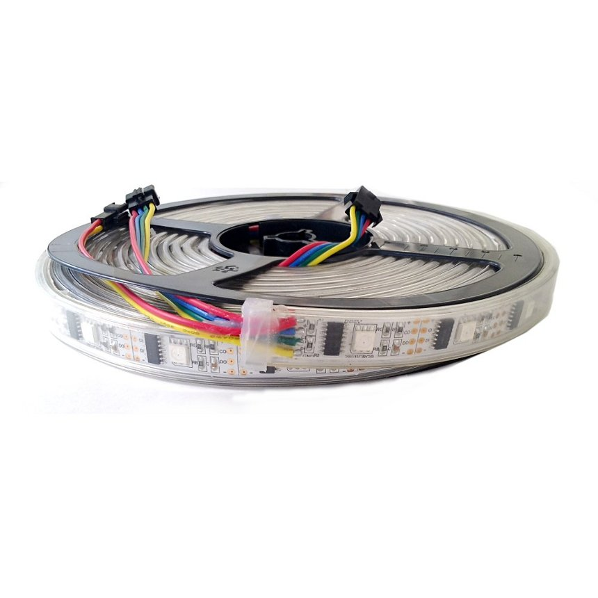 Led strips lighting(32pcs/M smd5050 digital ws2801 ledstrip)