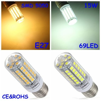 led e27 Corn bulb(15W/220V)replacement fluorescent light lamp
