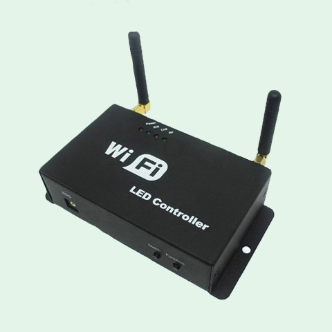 WiFi controller(WiFi controlled led lights with RF remote&phone)