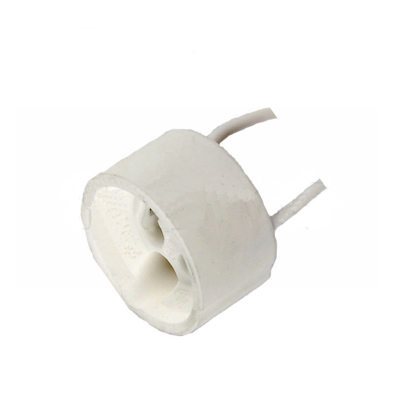Gu10 Base Socket Lamp Holder Halogen Light Bulb Adapter